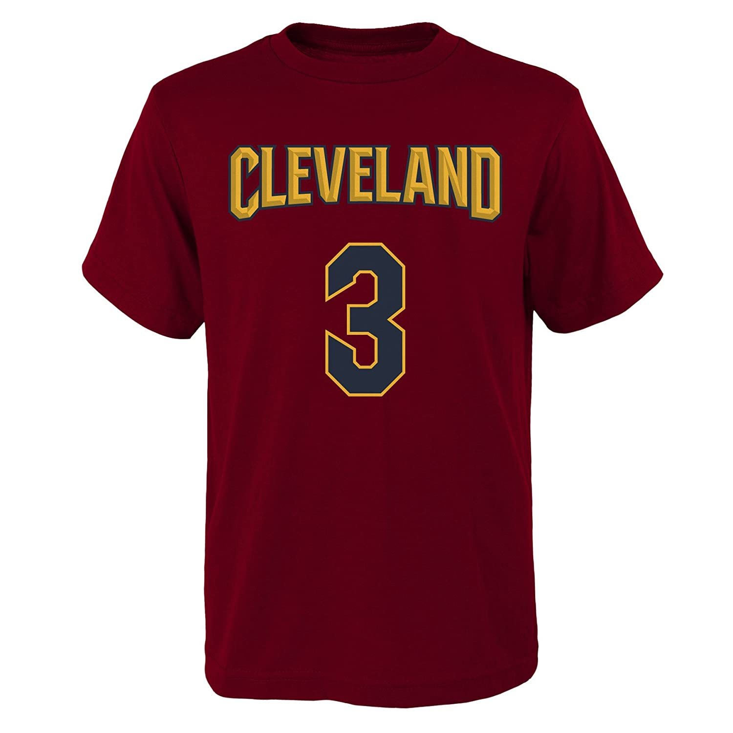 Small 8 Outerstuff Isaiah Thomas Cleveland Cavaliers #3 Red Youth Home Name /& Number T Shirt