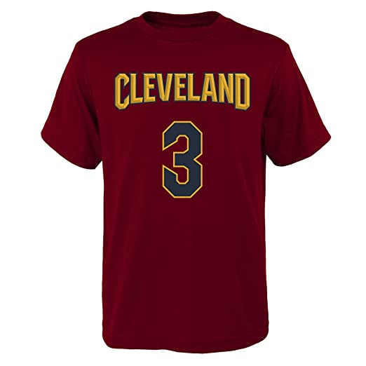 d36a0524280 Image Unavailable. Image not available for. Color: Outerstuff 'Isaiah  Thomas Cleveland Cavaliers #3 Red ...