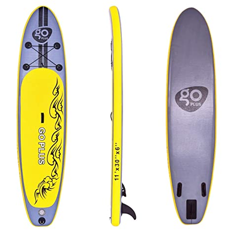 Goplus 11 hinchable Stand Up Paddle Board SUP W/3 aletas
