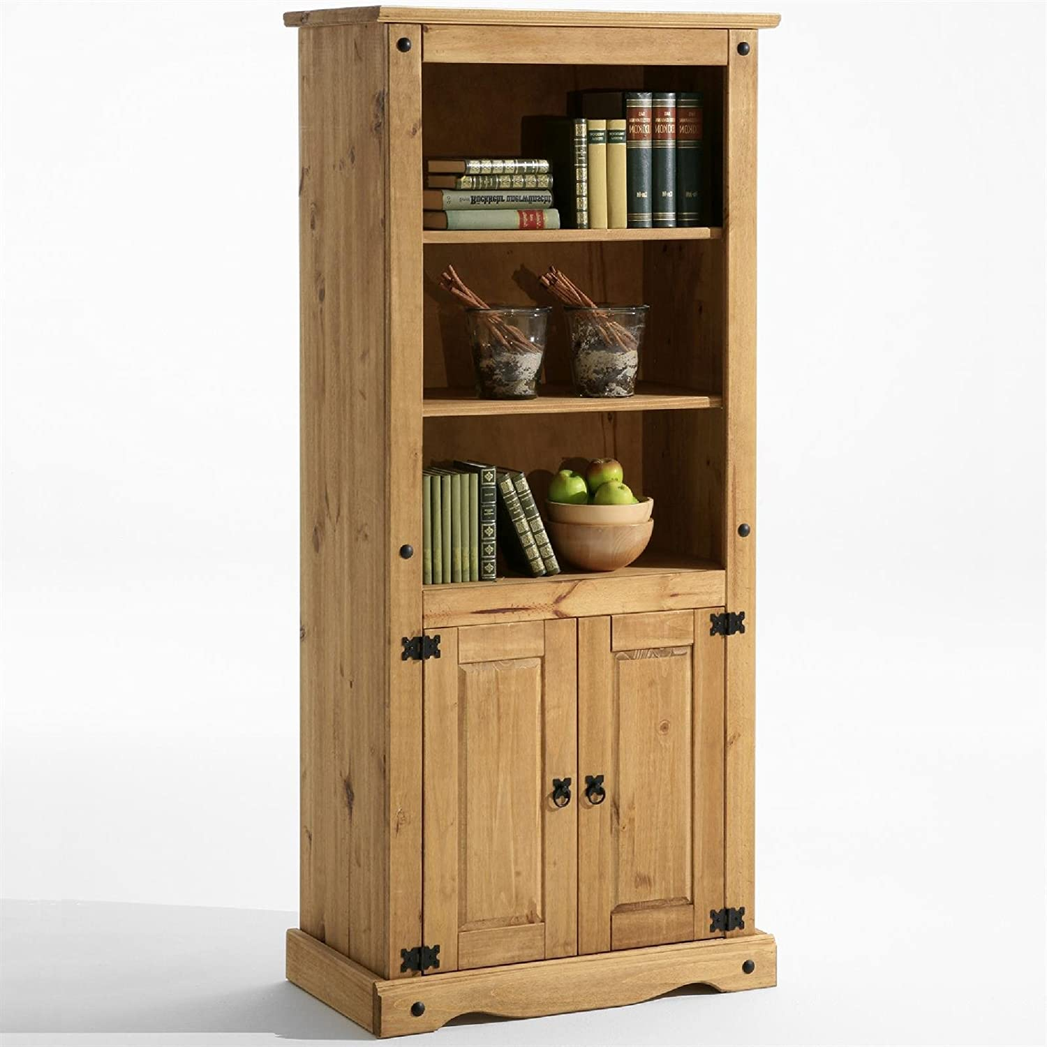 Groovy Mews Corona Pine Shelves And Cabinet Living Dining Room Display Unit Home Interior And Landscaping Ferensignezvosmurscom