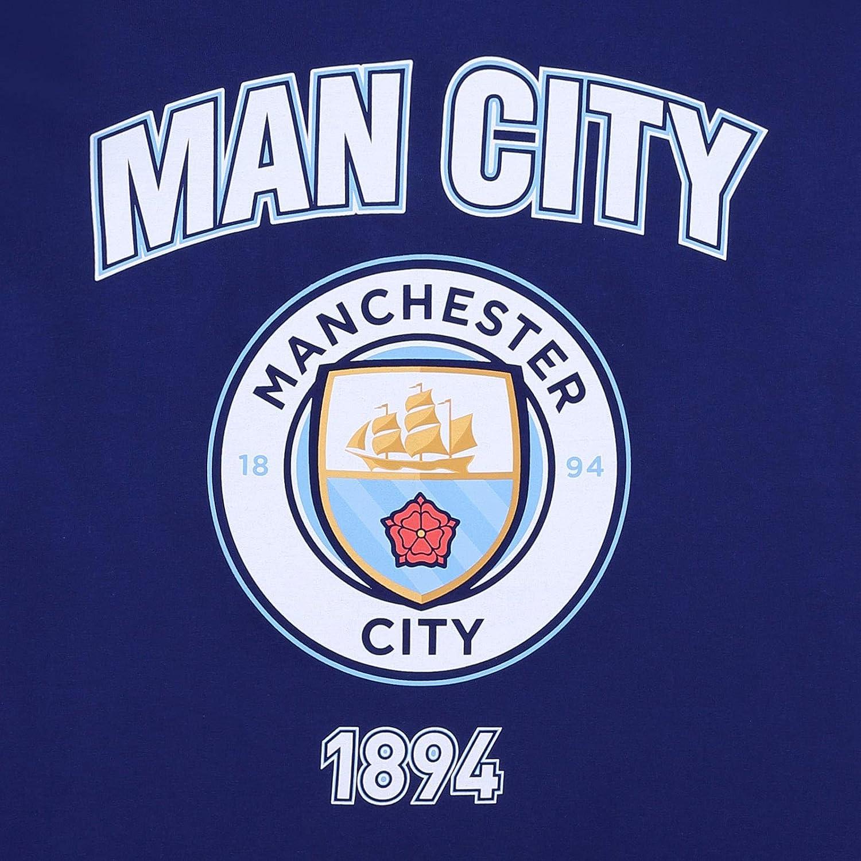 Manchester City FC Producto oficial Pijama corto para hombre