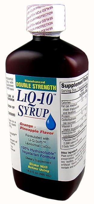 Amazon.com: Doble Fuerza liq-10 Jarabe Liposomal CoQ10 ...