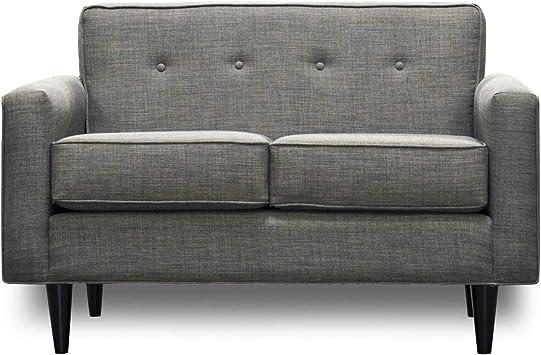 Amazon Com Socal Sofa Factory Mid Century Modern Loveseat