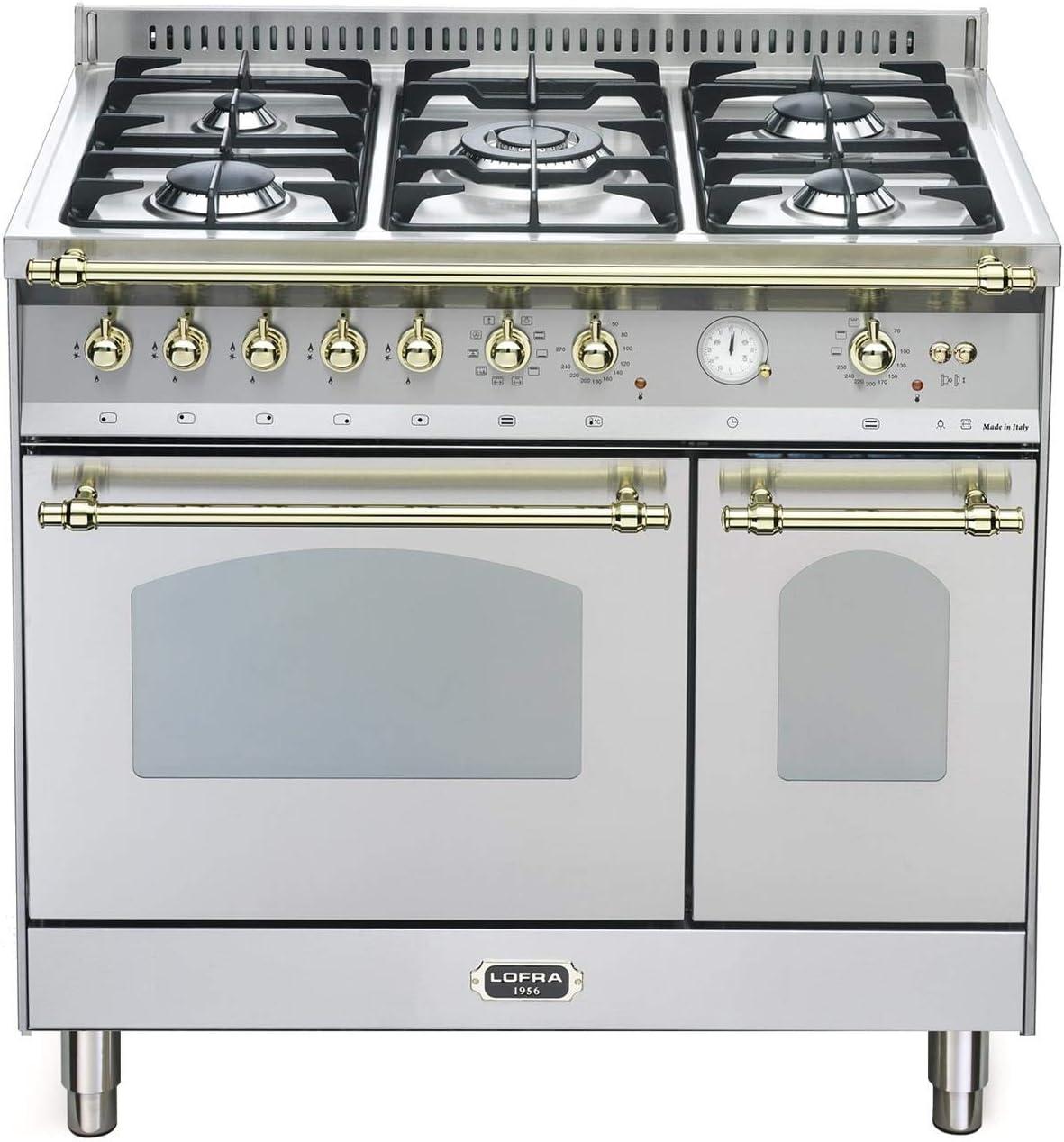 Lofra RSD96MFTE/CI - Cocina (Cocina familiar tipo industrial ...