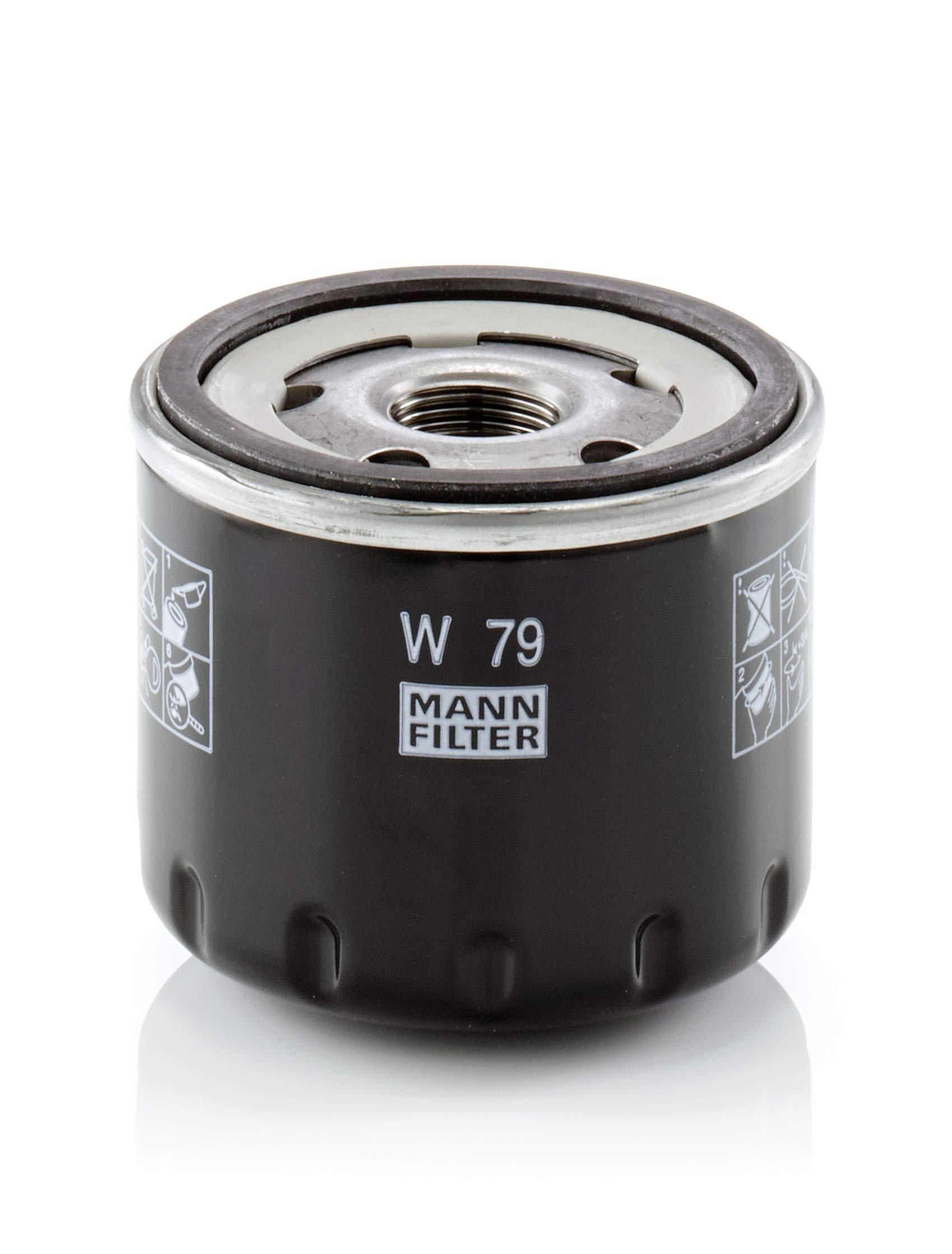 MANN-FILTER Original Filtro de Aceite W 79 – Para automóviles product image