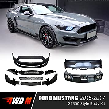 Wdmuscle Gt Style Body Kit For Ford Mustang   Gt Ecoboost