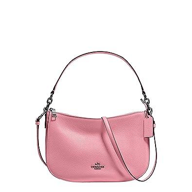 9ea3ac37aa18 COACH Women s Pebbled Leather Chelsea Crossbody Dk Dusty Rose One Size   Handbags  Amazon.com