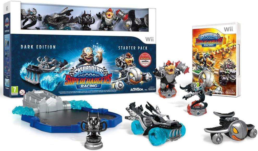 Activision Skylanders SuperChargers Dark Edition SP, Wii - Juego (Wii, Nintendo Wii, Acción / Aventura, E10 + (Everyone 10 +))