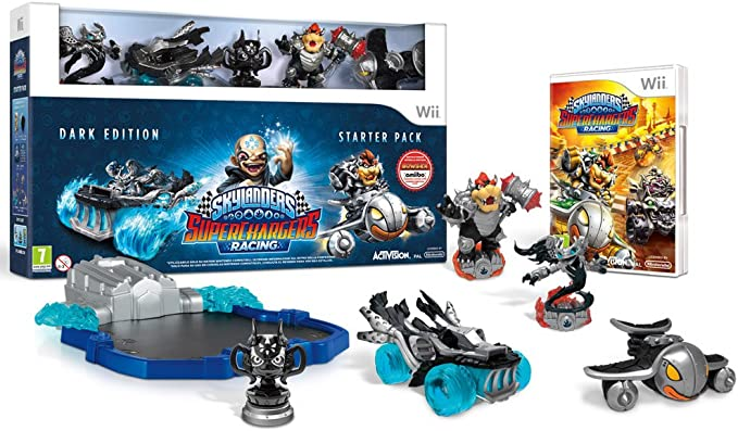 Activision Skylanders SuperChargers Dark Edition SP, Wii - Juego (Wii, Nintendo Wii, Acción / Aventura, E10 + (Everyone 10 +)): Amazon.es: Videojuegos