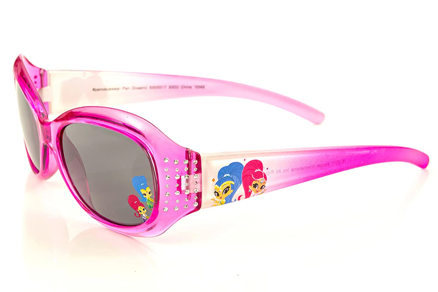 Nickelodeon Shimmer and Shine Girl's Sunglasses in Pink with Studs Pan Oceanic Eyewear LTD