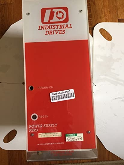 Amazon com: USED INDUSTRIAL DRIVES PSR3-230/75-21-202,PSR3