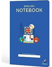 Cuadernos Camaleón A4 Grapa, cuadrícula 4x4, 48 Hojas, diseño Inglés