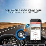 DDPai M4 Wi-Fi Dash Cam 1080P, F1.8 Aperture 140