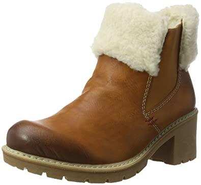 Rieker Damen Y4582 Chelsea Boots, Beige (Beige), 36 EU