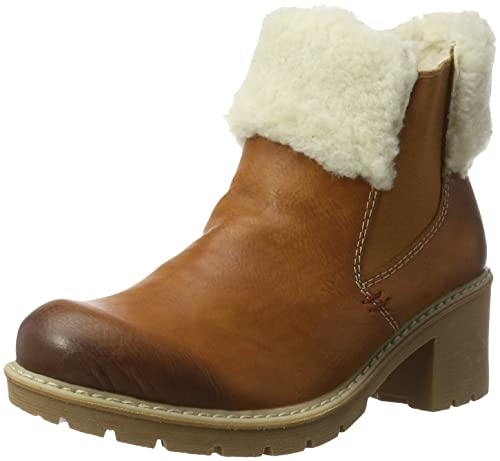 Rieker Women s X1560 Chelsea Boots, Brown (Cayenne offwhite 24), 3.5 UK 329c1d9251