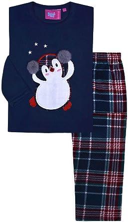 Jolly Rascals Pijama de Navidad para niñas con diseño de ...