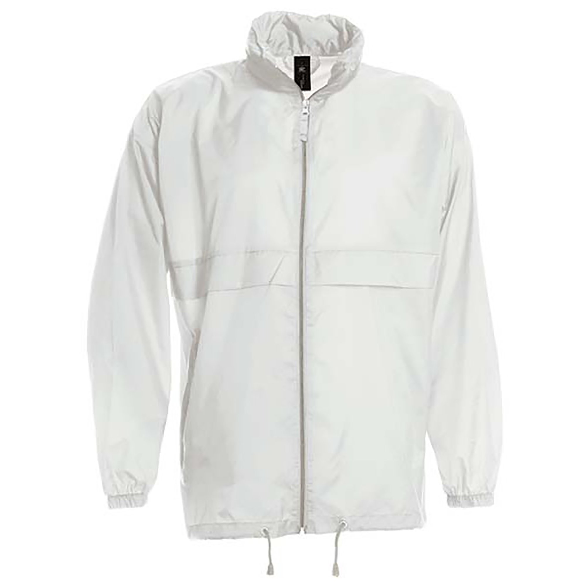 B&C Sirocco Mens Lightweight Jacket/Mens Outer Jackets (S) (White)