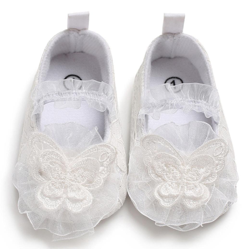 Hirolan Neugeborenen Schuhe Baby Freizeitschuhe M/ädchen Taufschuhe Cartoon Weich Krippeschuhe Anti-Rutsch Freizeitschuhe Einzelner Sneaker Strandschuhe
