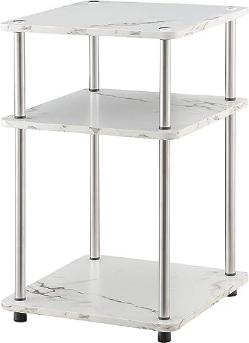 Convenience Concepts Designs2Go No Tools 3-Tier End Table