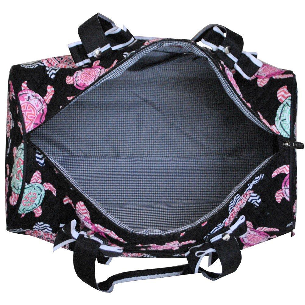 Sea Turtle PrintNGIL Large Quilted Duffle Bag by N.Gil (Image #4)