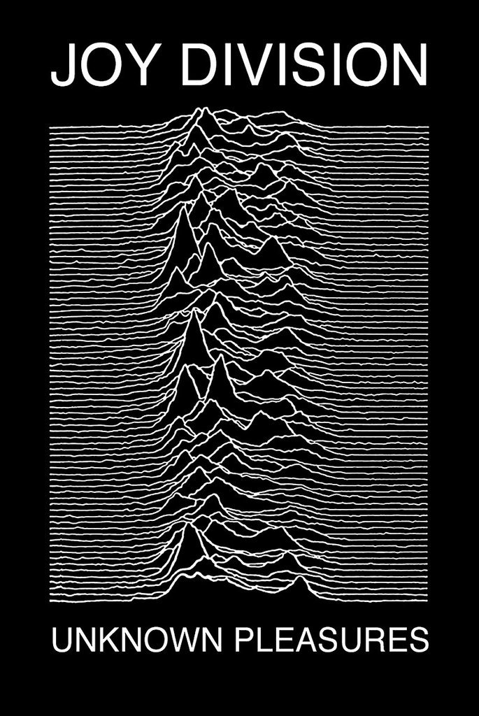 Joy Division   Unknown Pleasures, Poster 24in X 36in by Poster