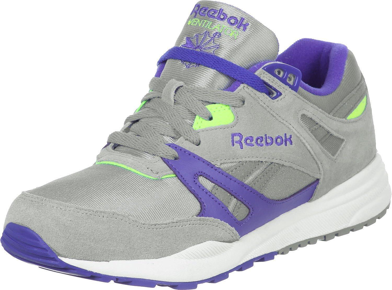 21ccea707838 Reebok Ventilator Athletic Grey Purple Green Black White 46  Amazon.co.uk   Shoes   Bags