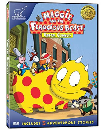 Amazoncom Maggie And The Ferocious Beast Rideem Cowboy Kristen