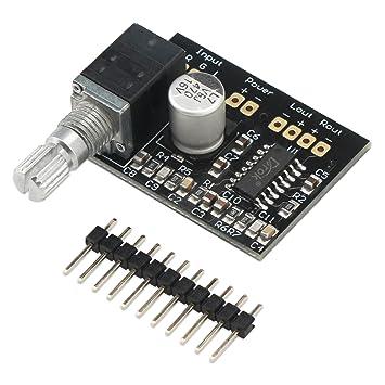 Ultra Small Amp 5V Amplificador de sonido Mini amplificadores de potencia digital Ampli Apoyo Junta de