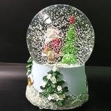 Santa Claus Musical Snow Globe Glitter Dome with