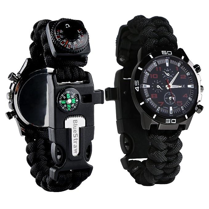 Review Survival Bracelet Watch, Men