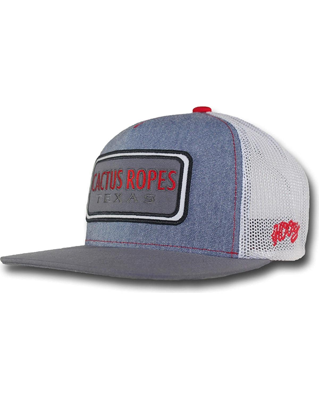 f7d719ca26dba ... get hooey boys mens grey cactus ropes patch logo baseball cap grey one  size clothing jpg