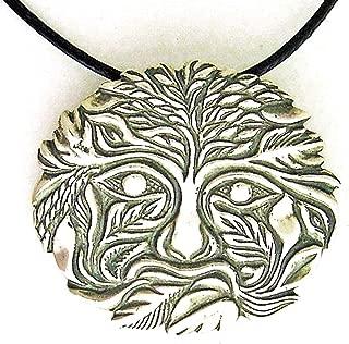product image for Jane Iris Designs Green Man Pendant