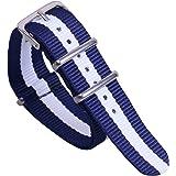 colorato stile NATO classico della moda nylon balistico sostituzione cinturino cinturino per uomini e donne