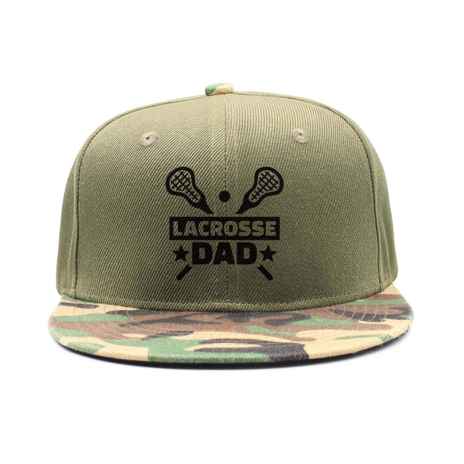 YHNBHI Lacrosse Dad Woman Mens Hip-Hop Adjustable Cricket Cap Army-Green  Baseball Hats at Amazon Men s Clothing store  e4c5bf5b8253