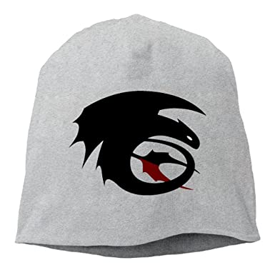 efb0e793ecb Amazon.com  How To Train Your Dragon Toothless Men Women Daily Beanie Hat