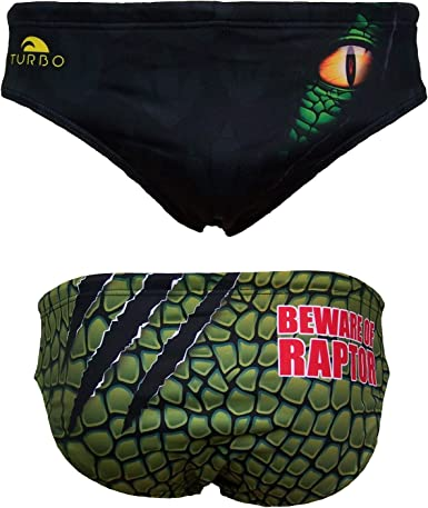 Turbo Raptor - Bañador para Hombre (Completamente Forrado y Opaco) Negro 3XL: Amazon.es: Ropa y accesorios