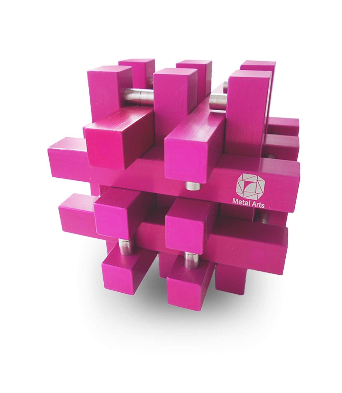 【大放出セール】 Metal Arts B07MPPGBNN Harold Arts ピンク パズル 航空宇宙標準素材 AL-6000シリーズ 工業用カラーリング技術 ピンク B07MPPGBNN, 変テコ雑貨と玩具のにぎわい商店:4d6f4d8f --- a0267596.xsph.ru