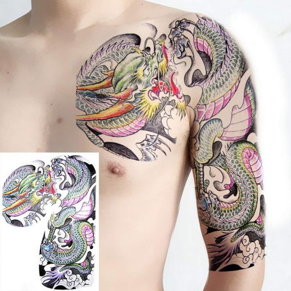 tzxdbh 3Pcs-Piernas Femeninas Tatuaje Rosa y Serpiente Tatuaje ...