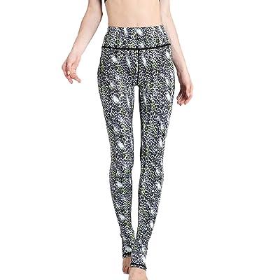 Vemubapis Pantalones De Yoga Con Estampado Animal Elástico Leggings Extra Suaves Para Mujer: Ropa y accesorios
