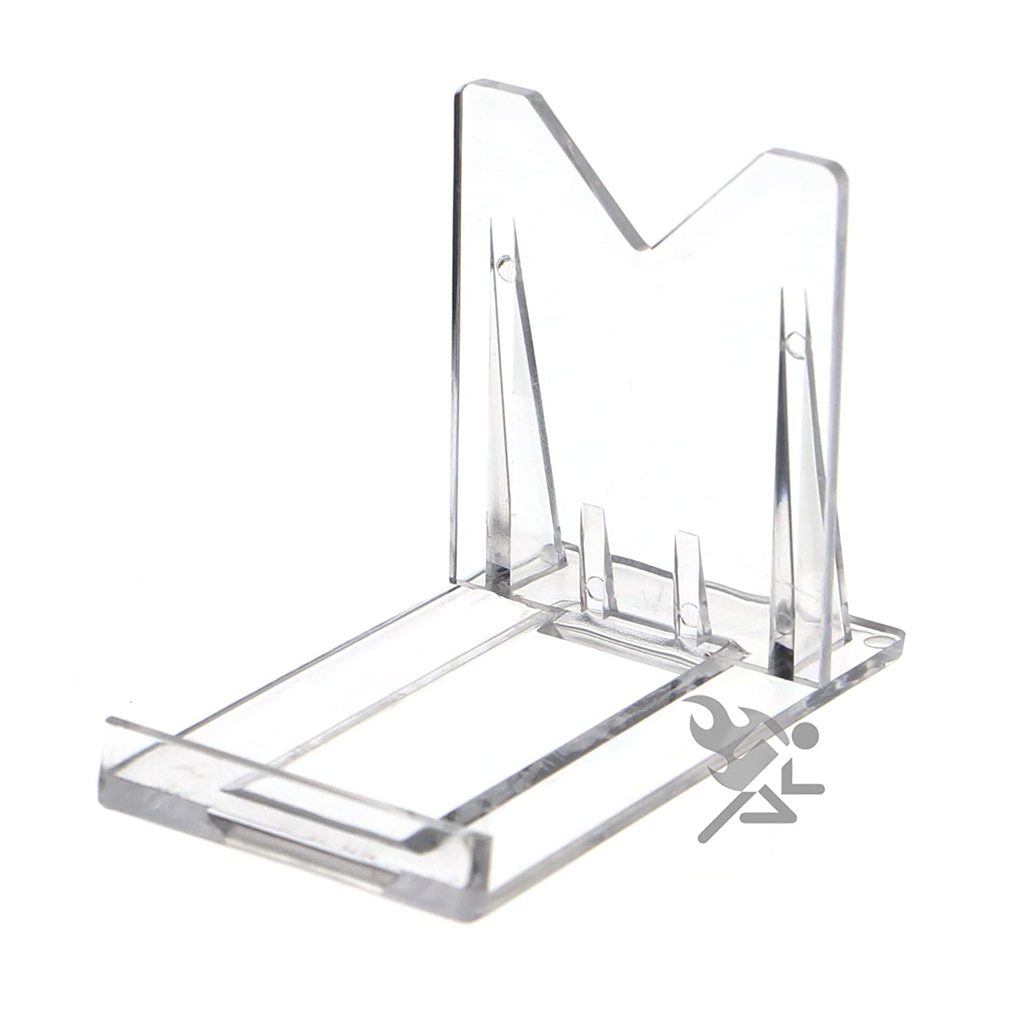 Amazoncom 2 Two Part Adjustable Clear Acrylic Plastic Display Stand