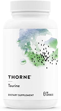 Thorne Research - Taurine - Amino Acid Supplement to Support Heart, Nerve, and Liver Health - 90 Capsules