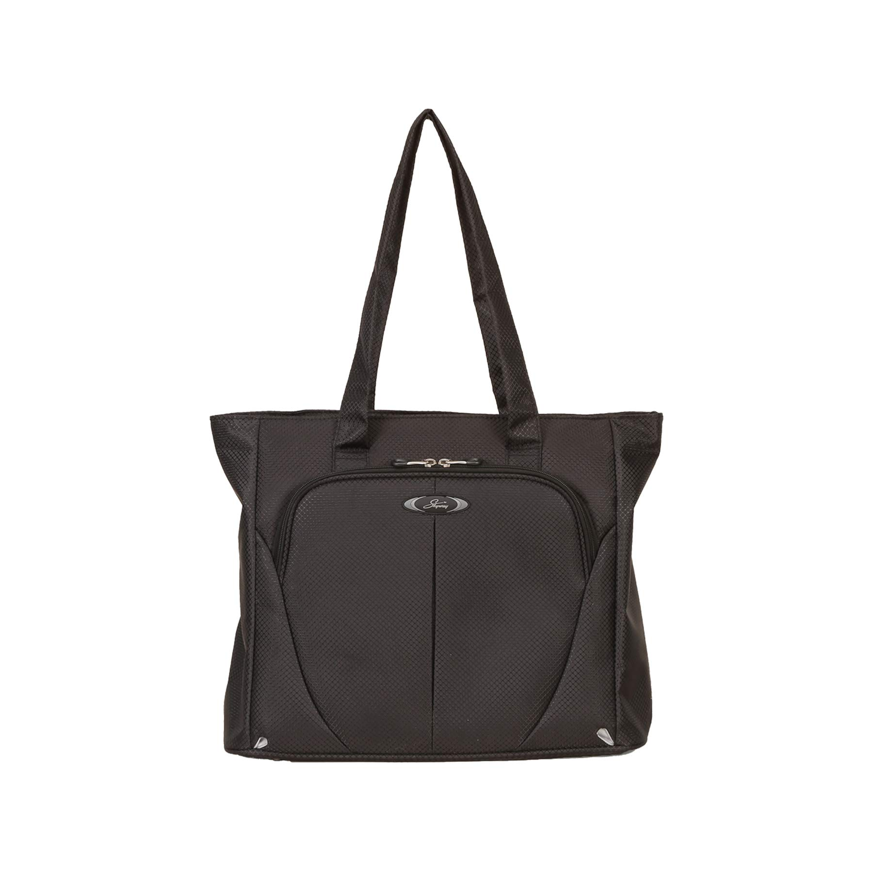 Skyway Luggage Mirage Superlight 18 Inch Shopper Tote, Black, One Size