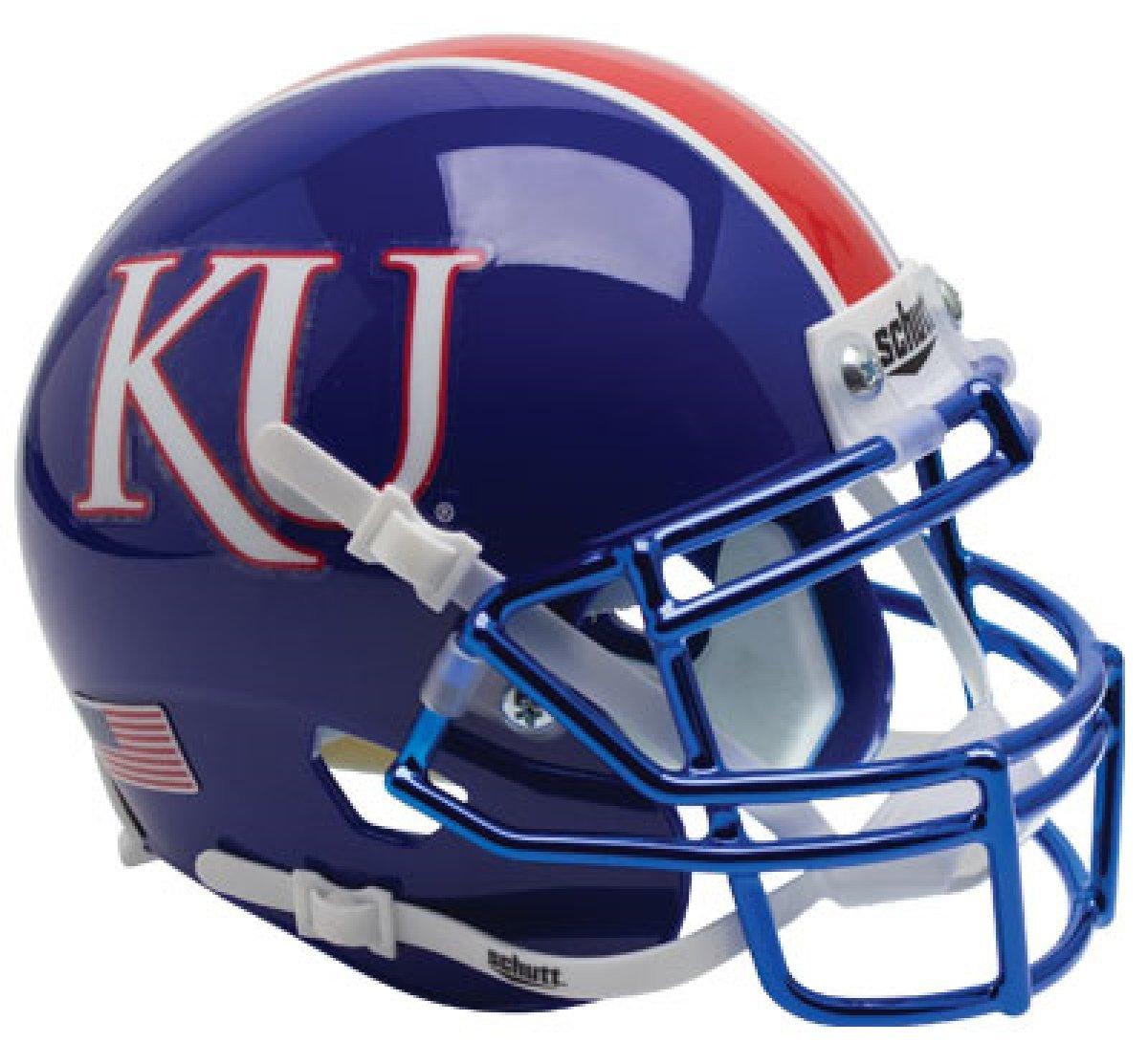 Sports & Outdoors Schutt NCAA Kansas Jayhawks Mini Authentic XP ...