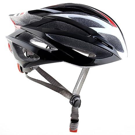 Amazon.com : eDealMax Unisex adulta Protector de cabeza Ciclismo Gorra, Sombrero de bicicletas, Ajustable de seguridad Casco de la bici : Sports & Outdoors