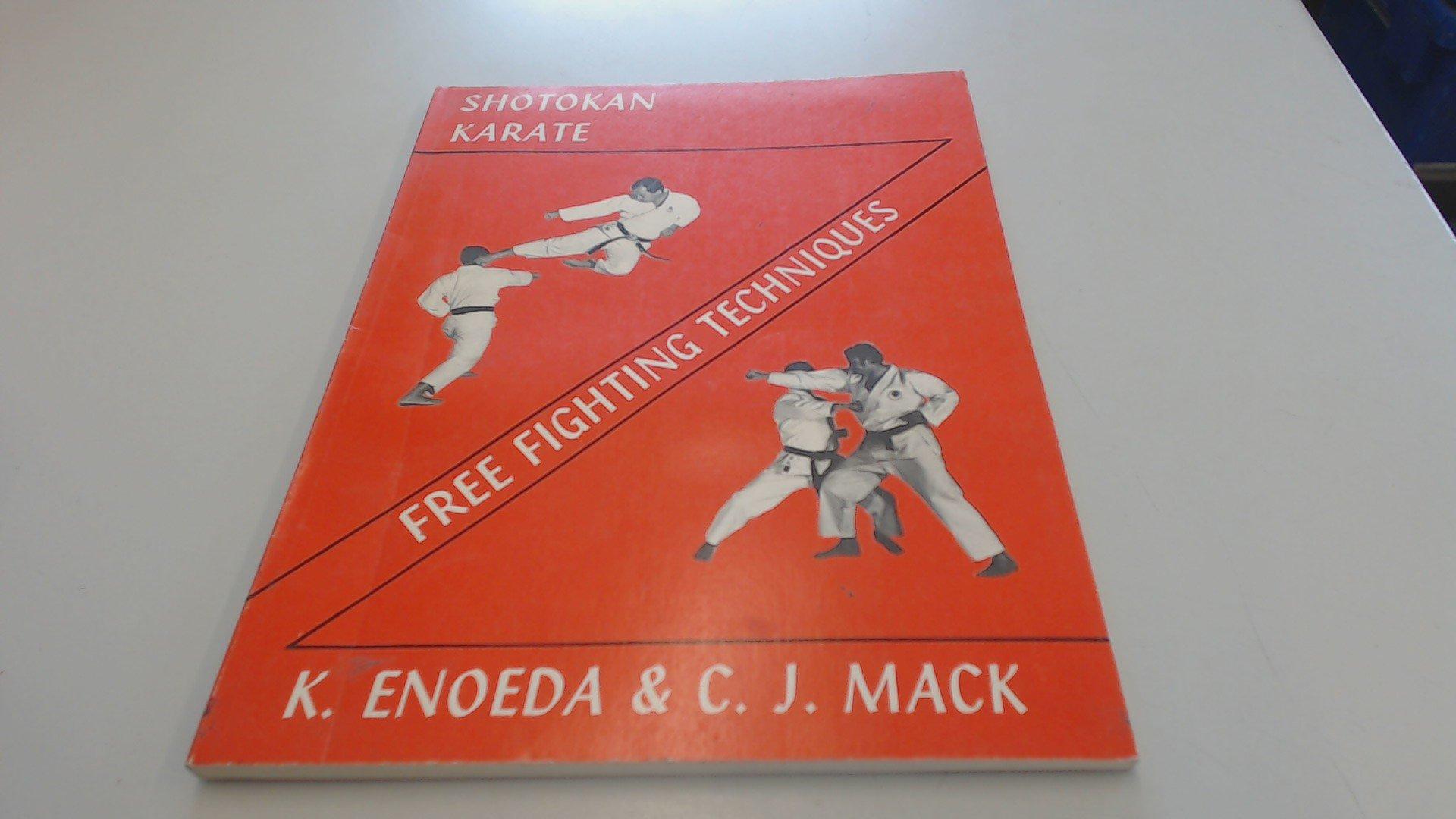Shotokan Karate Free Fighting Techniques Amazones Cj