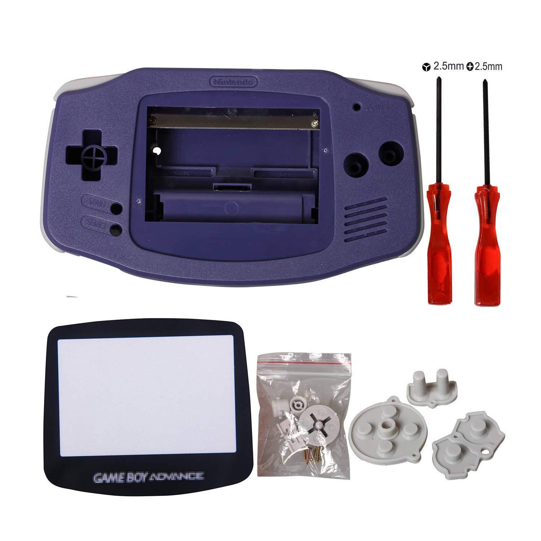 eJiasu Carcasa gba Shell, Reemplazo Piezas de Repuesto Shell reparación Piezas Cubierta Carcasa Caso para Nintendo Gameboy Advance GBA (1PC GBA Shell ...