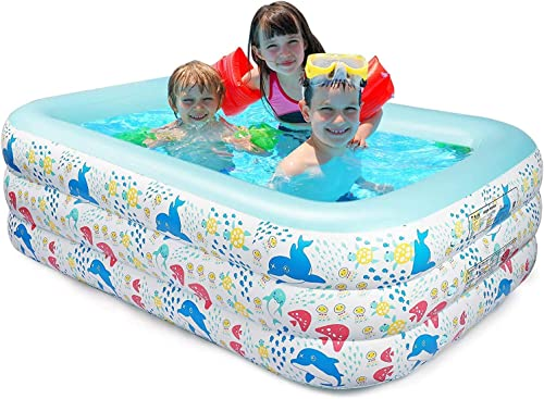 FBSPORT Inflatable Swimming Pool