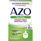 AZO Urinary Tract Infection (UTI) Test Strips, Accurate Results in 2 Minutes, Clinically Tested, Easy to Read Results…