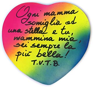 Idea Regalo per La Festa della Mamma 12/5/19 - Ogni mamma somiglia ad una stella - Regala il tuo cuore alla tua Mamma, Personalizzabile