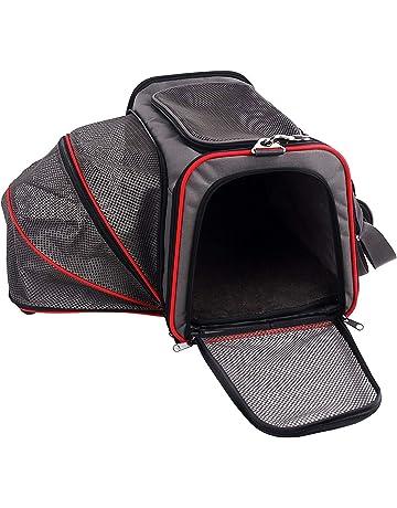 Petsfit - Transportín ampliable para perros, con forro polar, apto para la